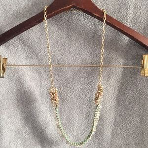 LOFT gold tone necklace